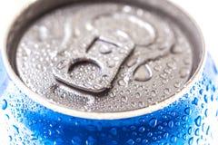 Kan van Pepsi-cola op een bed van ijs Royalty-vrije Stock Afbeelding