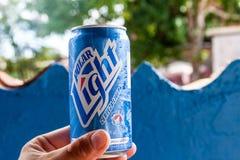 Kan van Polair bier stock fotografie