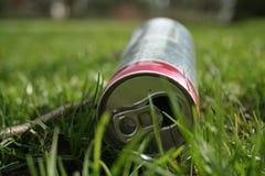 Kan van soda royalty-vrije stock foto