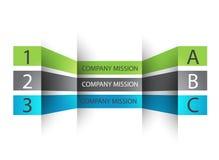 Kan voor het werklay-out, banner, diagram, Web worden gebruikt Royalty-vrije Stock Foto