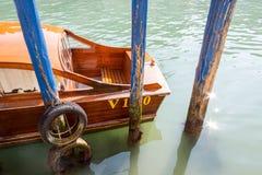 Kanał i łódź zdjęcie royalty free