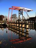 kanał blokuje drogę wodną Zdjęcia Royalty Free