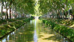 kanał du France Midi zdjęcie wideo