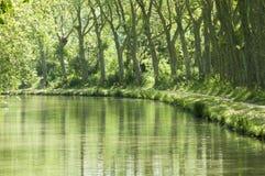 kanał du Midi zdjęcia royalty free