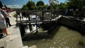 kanał du Midi zdjęcie wideo