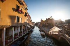 Kanał Grande i bazyliki Santa Maria della Salutuje, Wenecja, Włochy Obraz Royalty Free