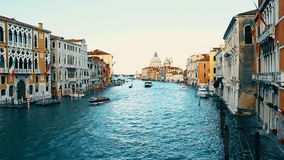 Kanał Grande w Venice, Włochy zbiory wideo