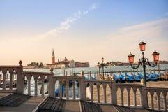 Kanał Grande w Venice, Włochy Obraz Royalty Free