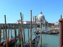 Kanał Grande w Wenecja, Włochy Zdjęcie Royalty Free