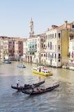 Kanał Grande, Wenecja zdjęcie stock