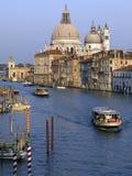 Kanał Grande Wenecja, Włochy - Zdjęcie Royalty Free