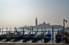 Kanał Grande Wenecja Włochy Obraz Stock