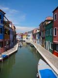 Kanał, Wenecja, Włochy Obraz Royalty Free