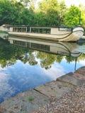 Kanałowa łódź Coshocton, Ohio Zdjęcia Stock