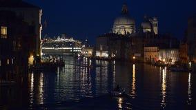 kanałowa uroczysta noc Venice zbiory