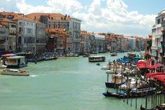 kanałowy główny Venice Zdjęcia Stock