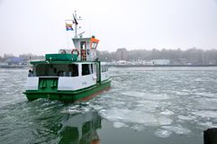 kanałowy prom Kiel Obrazy Royalty Free