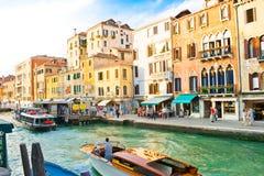 kanałowy uroczysty Venice fotografia royalty free