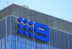 Kanału 9 Australia transmisja zdjęcia royalty free