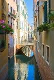 kanału venetian spokojny Zdjęcia Royalty Free