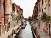 Kanały w Wenecja, Włochy fotografia stock