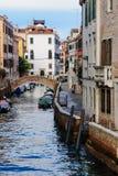 Kanały, Wenecja zdjęcie stock