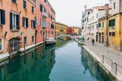 Kanały, Wenecja zdjęcia stock