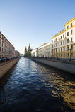 kanałów Petersburg st Zdjęcie Royalty Free