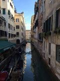 Kanał blisko San Marco obrazy royalty free