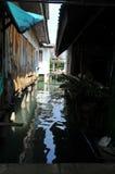 Kanał denna wioska, Tajlandia Zdjęcia Royalty Free