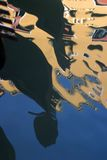 kanał gondole odzwierciedla Wenecji Zdjęcia Royalty Free
