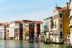 Kanał Grande w Wenecja Zdjęcia Royalty Free