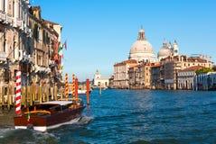 Kanał Grande, Wenecja Fotografia Royalty Free