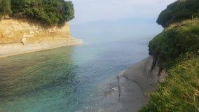 Kanał na Corfu wyspie Zdjęcia Stock