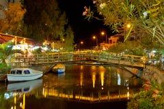 kanał na noc Obraz Royalty Free