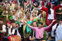 Kanałowa Amsterdam Parada 2012 Zdjęcia Stock