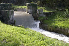 kanałowa droga wodna Zdjęcie Stock
