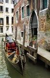 kanałowa gondola Zdjęcia Stock