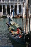 kanałowa gondola grande Venice Obraz Royalty Free