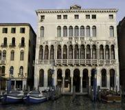 kanałowego farsetti uroczysty palazzo Venice Obraz Stock
