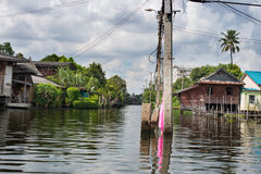 Kanałowy Bangkok Obrazy Royalty Free