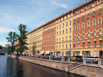 kanałowy bulwaru griboyedov Petersburg st Rosja Zdjęcia Royalty Free