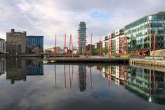 kanałowy dok Dublin uroczysty Zdjęcie Stock