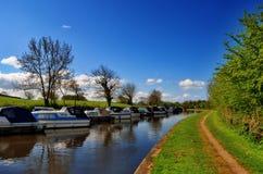 kanałowy galgate Lancaster Obraz Royalty Free