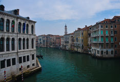 Kanałowy grande Wenecja Fotografia Stock