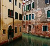 kanałowy Italy Venice Obrazy Royalty Free
