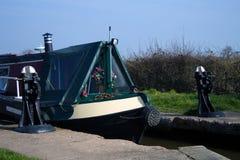 kanałowy longboat Fotografia Stock