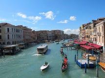 kanałowy redakcyjny uroczysty s Venice Obraz Stock