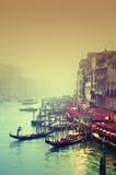 kanałowy uroczysty Italy Venice Zdjęcia Royalty Free
