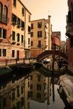 kanałowy Venice Obrazy Stock